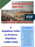 República Velha - Slides