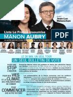 élections européennes 2019 en France - les professions de foi des listes