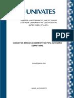 Estágio 1 - Alvenaria Estrutural - Vinícius Wathier Kich