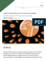 A Brecha Criada Nos Rolos Da Família Bolsonaro