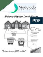 SISTEMA SEPTICO DOMICILIARIO