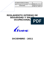 Reglamento Interno de Seguridad - FAMOME