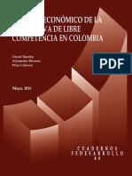 Análisis Económico de La Normativa de Libre Competencia en Colombia