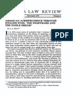 HART. American jurisprudence through english eyes.pdf