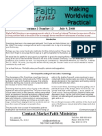 Worldview Made Practical - Issue 3-13