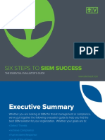 Six Steps to Siem Success_alienvault
