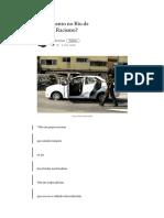 Fuzilamento No Rio de Janeiro. Racismo_ – Paulo Cruz – Medium
