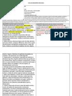 Ficha de Competencias Precisadas 2do Grado