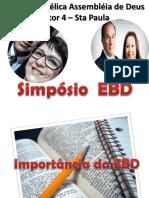 Importancia Da EBD