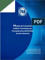 Modelo de Formación Política Humanista por Competencias de Acción Nacional  2019