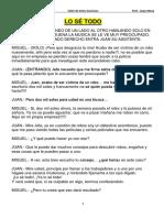 7.- Obra de Teatro Lo Se Todo