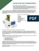 1. Unidad 1. Estructura de Una Computadora