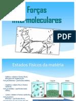 Forcas Intermoleculares