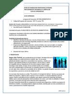 Facilitar El Servicio a Los Clientes Internos y Externos de Acuerdo Con Las Políticas de La Organización 1