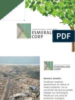 3. Esmeralda Corp Reutilizando Eficientemente El Agua Residual