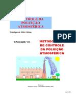 Cap 7 Metodologia de controle da poluição atmosférica.pdf