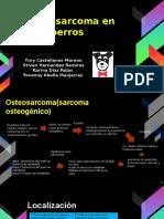 diapositivas del osteosarcoma