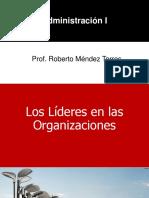 Los Líderes en Las Organizaciones