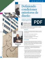 Condiciones de Diseño Bogota