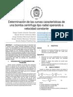 Preinforme Bomba Centrífuga
