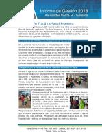 Informe Gestion Hrcv 2018