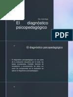 El Diagnóstico Psicopedagógico