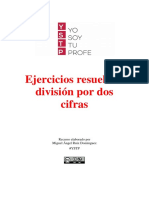 División de Dos Cifras Ejercicios Resueltos YSTP
