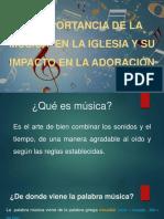 La Importancia de La Música y Su Impacto