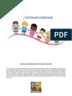 Plan de Area o Malla - Lenguaje 2019 preescolar