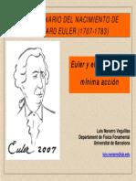 Euler y El Principio de Mínima Acción