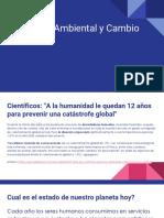 Deterioro Ambiental y Cambio Climático (1)