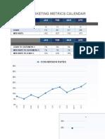 Monthly Marketing Metrics Calendar-Copy