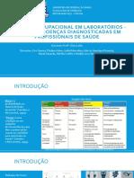 1-Exposição Ocupacional Em Laboratórios - Principais Doenças Diagnosticadas
