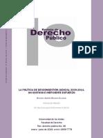 Dialnet La Politica De Descongestion Judicial