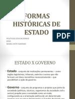 Formas históricas de Estado
