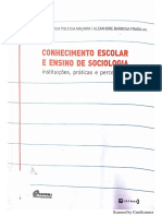 Silva, Aline Barbosa da. A Sociologia no Ensino Médio