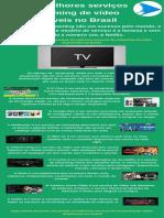 Top 10 melhores serviços de streaming de vídeo disponíveis no Brasil