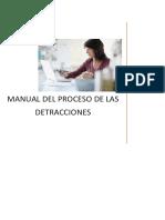 17.- Pasos Del Proceso Detraccion
