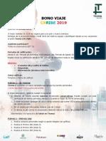 118-18 - Bono Viaje Caribe 2019
