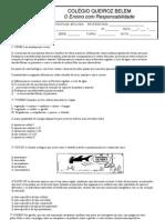 Parcial Biologia 3º - 10 questões