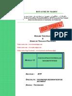 Module 13- Etude de Coffrage Et de Ferraillage Des Elements Porteurs