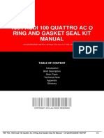 IDdb9a27181-1994 audi 100 quattro ac o ring and gasket seal kit manual