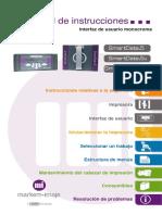 Manual Instructivo SD5 MUI Instruction Manual - ES