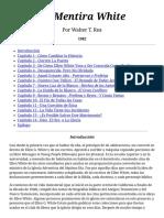 Walter T. Rea - La Mentira White
