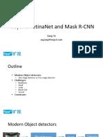 Beyond Mask RCNN and RetinaNet