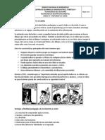Anexo 8. Historieta o Comic