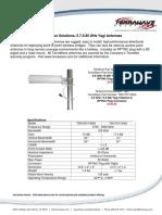 5.8 Yagi Antennas_datasheet