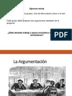 PPT La Argumentación