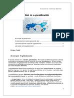 Globalización/ créditos a quien correspondan.