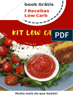 7 Receitas Low Carb